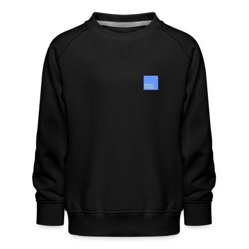 Blue Summer Logo - Kids' Premium Sweatshirt