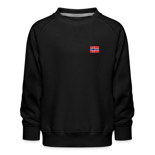 Bandera de Noruega - Sudadera premium para niños y niñas