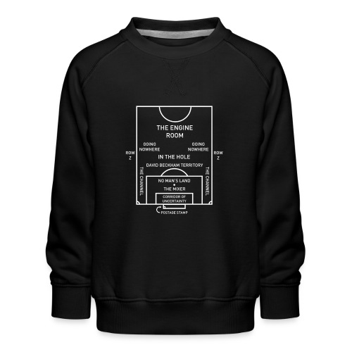 Football Pitch.png - Kids' Premium Sweatshirt