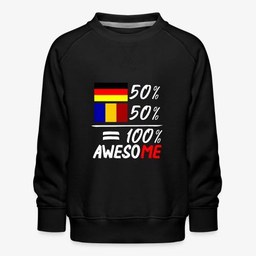 50% Deutsch 50% Rumänisch - Kinder Premium Pullover