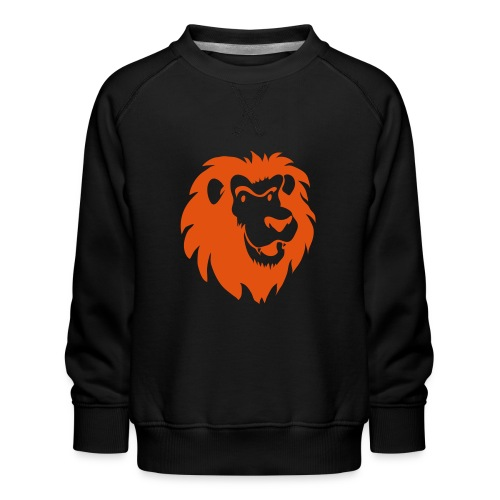Leeuwenkop 1C - Kinderen premium sweater