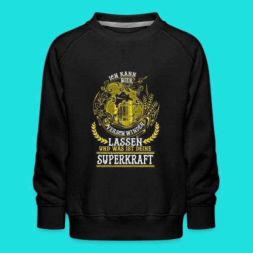Bier Superkraft - Kinder Premium Pullover