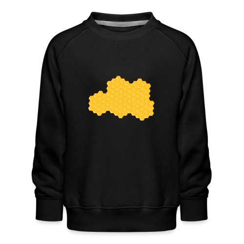 Bienenwabe - Kinder Premium Pullover