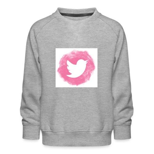 pink twitt - Kids' Premium Sweatshirt