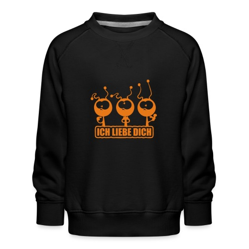 Ich liebe Dich - Kinder Premium Pullover