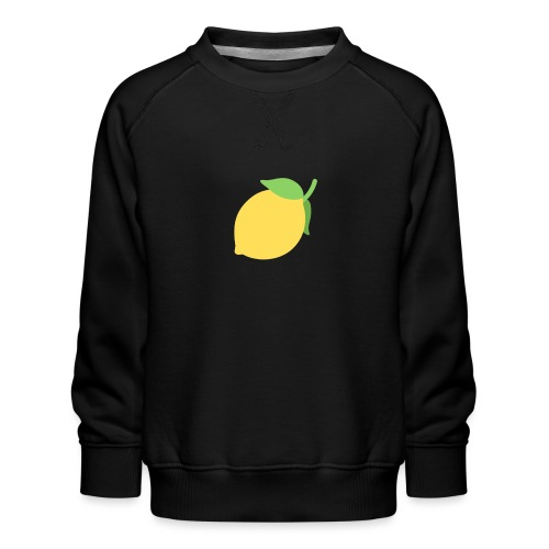 sitrónin - Børne premium sweatshirt