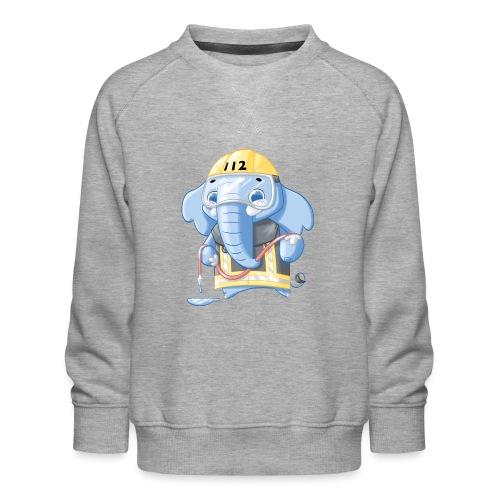 Feuerwehr Elefant - Kinder Premium Pullover