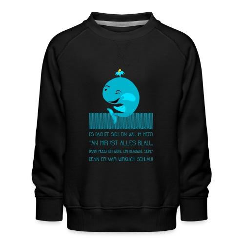Blauwal - Kinder Premium Pullover