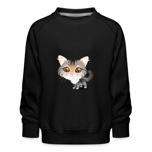 Katze - Kinder Premium Pullover