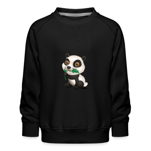 Panda - Lasten premium-collegepaita