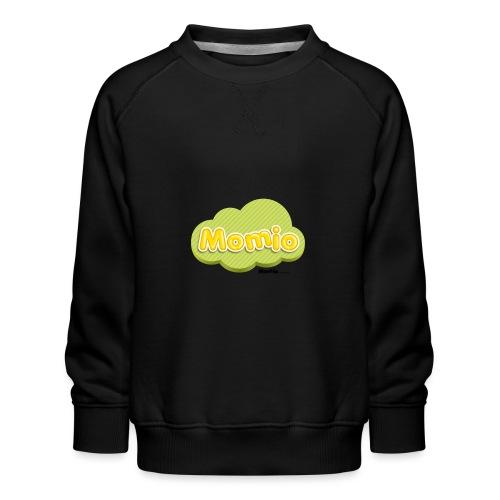 Momio-logo - Lasten premium-collegepaita