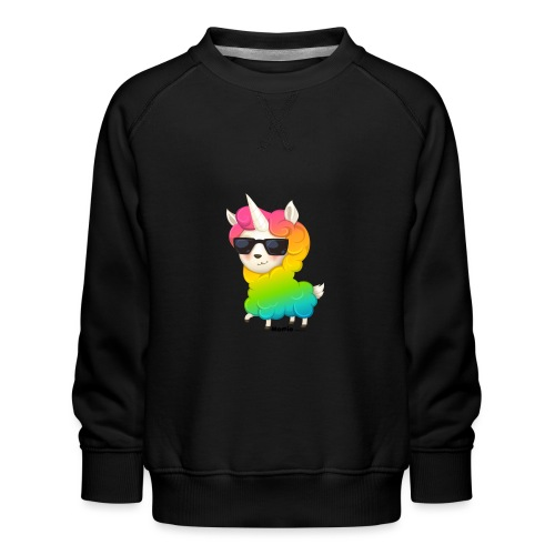Regenbogenanimation - Kinder Premium Pullover