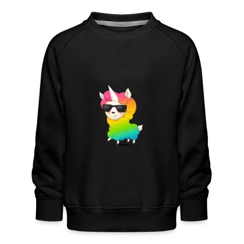 Regenboog animo - Kinderen premium sweater