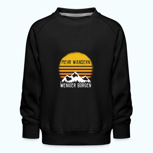 hike - Kids' Premium Sweatshirt