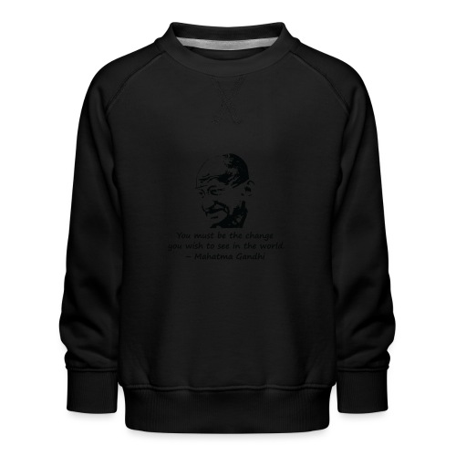 Be the Change - Kids' Premium Sweatshirt