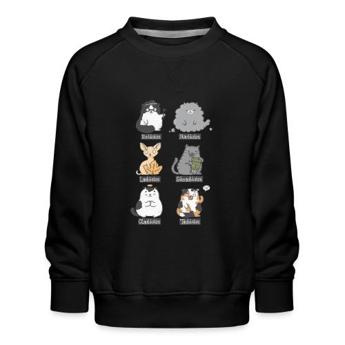 Aub-Katzen - Kinder Premium Pullover