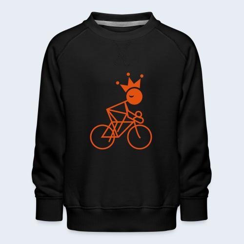 Wielerkoning - Kinderen premium sweater