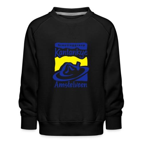 logo simpel 2 - Kinderen premium sweater