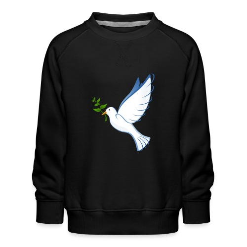 Friedenstaube - Kinder Premium Pullover