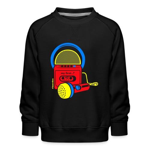My first Boombox - Kinderen premium sweater