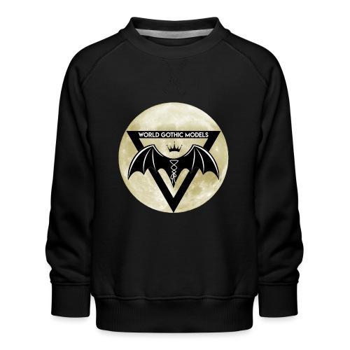 WGM Logo + Different is Beautiful   2 Sided Design - Kids' Premium Sweatshirt