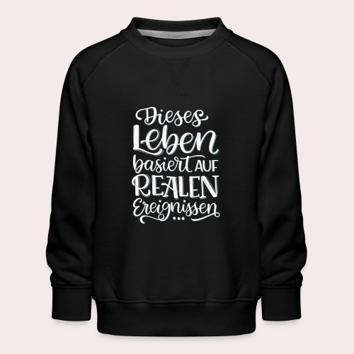 Reale Ereignisse - Kinder Premium Pullover