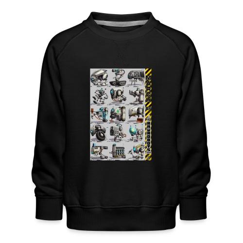 March of Rawrobots 01-15 - Børne premium sweatshirt