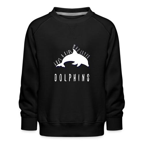Bara en simpel tjej som älskar delfiner - Premiumtröja barn