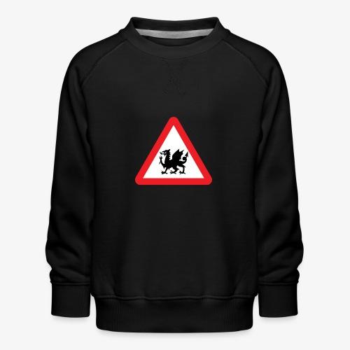 Welsh Dragon - Kids' Premium Sweatshirt