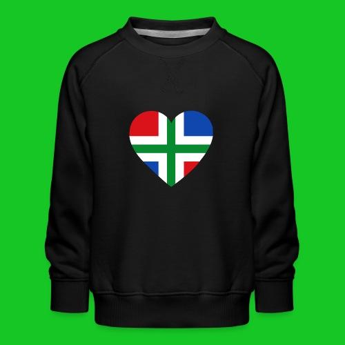 Love Groningen Hart.png - Kinderen premium sweater