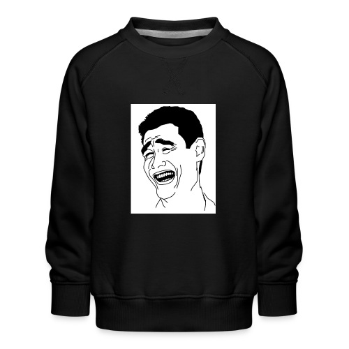 Yao Ming Face Bitch Please - Bluza dziecięca Premium