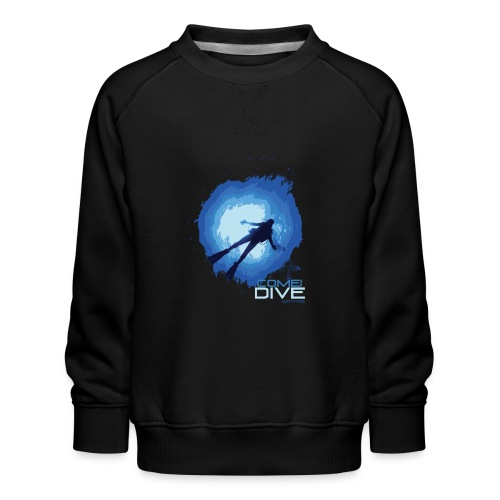 Come and dive with me - Bluza dziecięca Premium