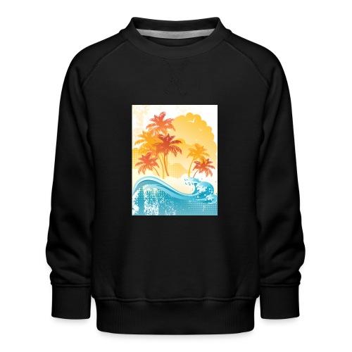 Palm Beach - Kids' Premium Sweatshirt