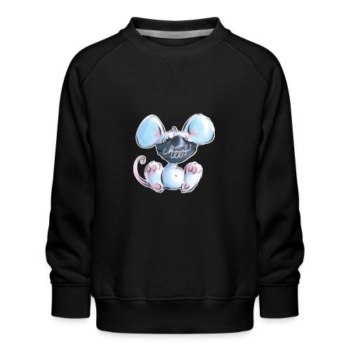 Maskenmaus - Kinder Premium Pullover