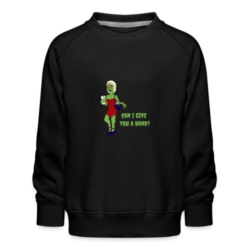 give a hand - Kids' Premium Sweatshirt