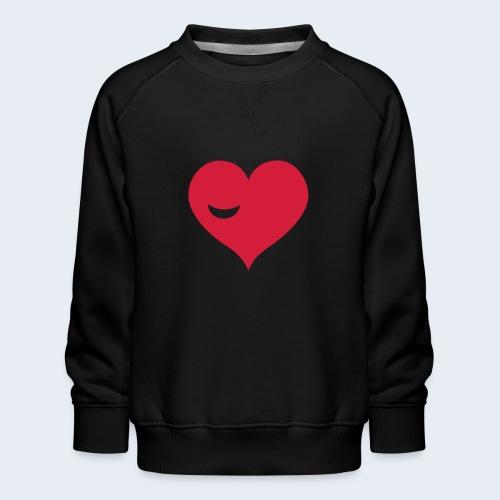 Winky Heart - Kinderen premium sweater