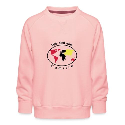TIAN GREEN - Wir sind eine Familie - Kinder Premium Pullover