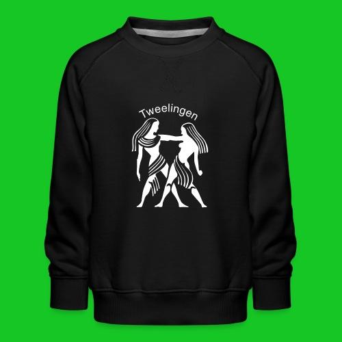 Tweelingen - Kinderen premium sweater