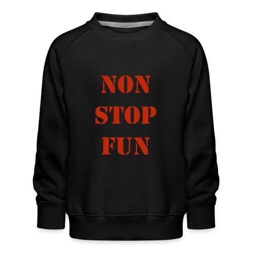 non stop fun - Kinder Premium Pullover