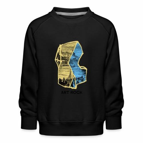 ART ROCK No 4 colour - Kinderen premium sweater