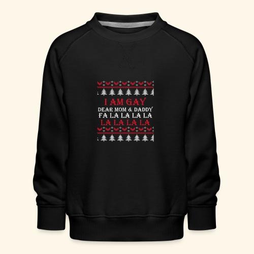 Gay Christmas sweater - Bluza dziecięca Premium