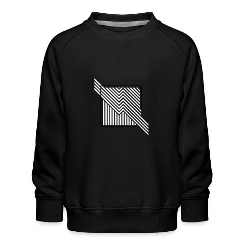 Lines in the dark - Kids' Premium Sweatshirt