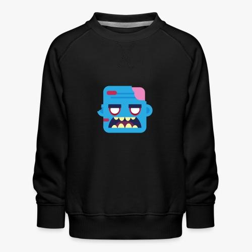 Mini Monsters - Zombob - Børne premium sweatshirt