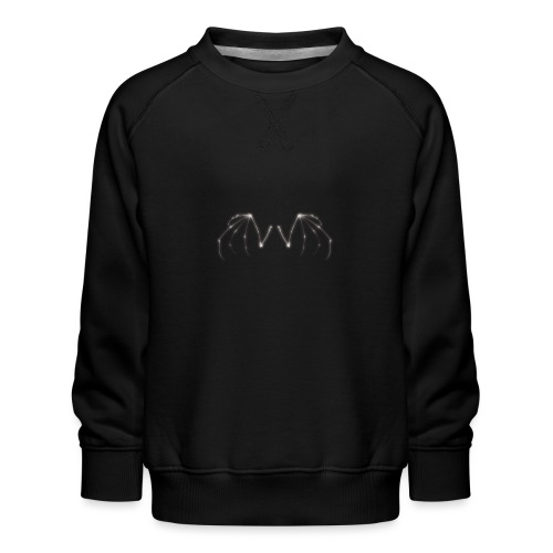 Skeleton Wings - Kids' Premium Sweatshirt