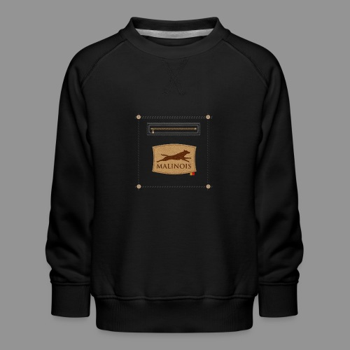 Belgian shepherd Malinois - Kids' Premium Sweatshirt