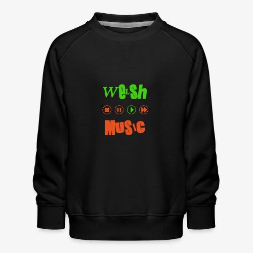 Welsh Music - Kids' Premium Sweatshirt