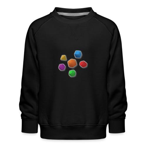 PolyDicePin - Kids' Premium Sweatshirt