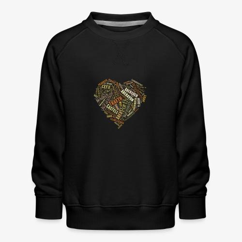Welsh Beaches - Kids' Premium Sweatshirt