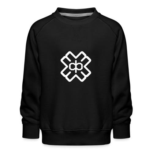 d3eplogowhite - Kids' Premium Sweatshirt
