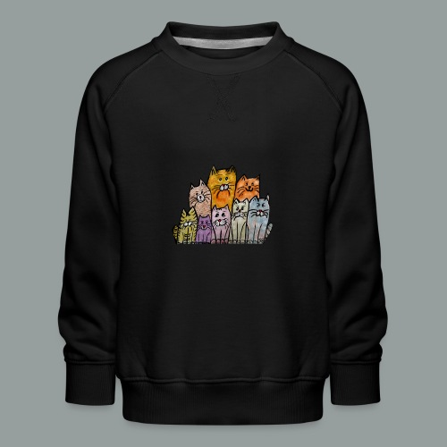 Katzenbande - Kinder Premium Pullover